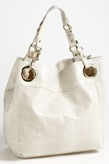 Steven By Steve Madden Candy Coated Snake Embossed Tote - Lyst