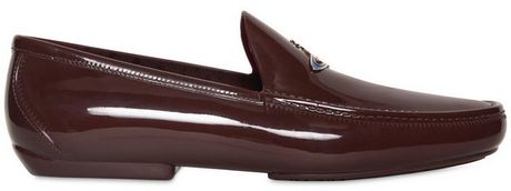 Vivienne Westwood Metal Orb Logo Rubber Loafers in Purple for Men (aubergine) - Lyst