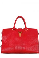 Yves Saint Laurent Large Cabas Chyc Eastwest Top Handle - Lyst