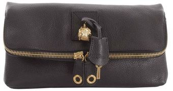 Alexander McQueen North South Padlock Clutch - Lyst