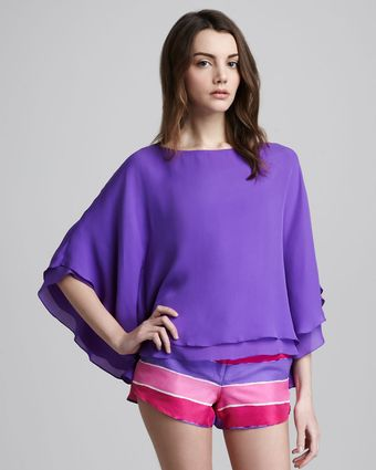 Alice + Olivia Hampton Layered Tunic - Lyst