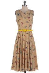 ModCloth Until Next Tweet Dress - Lyst