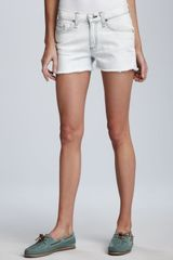 Rag & Bone Bleached Cutoff Shorts Stylist Pick - Lyst