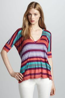 Splendid Beach Towel Striped Top - Lyst