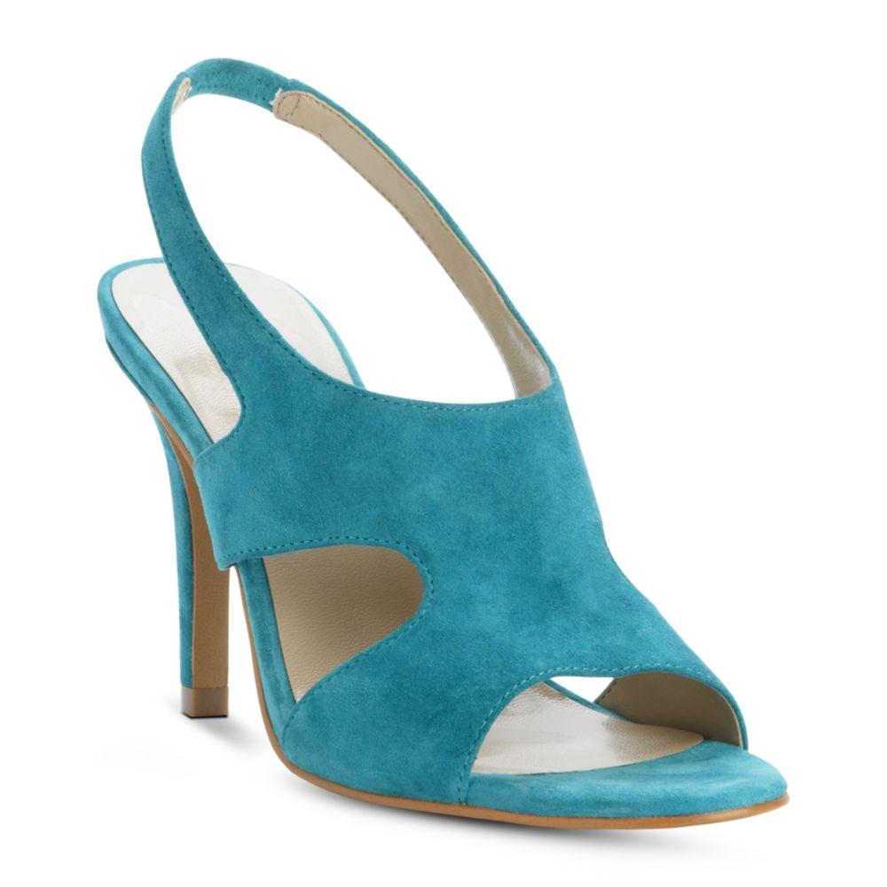Turquoise High Heel Shoes