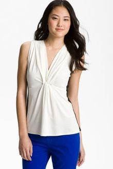 Vince Camuto Sleeveless Colorblock Top - Lyst