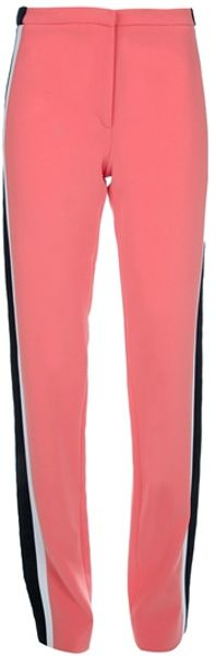 Balenciaga Side Stripe Trouser in Pink - Lyst