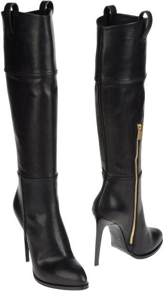 Emilio Pucci Highheeled Boots in Black - Lyst