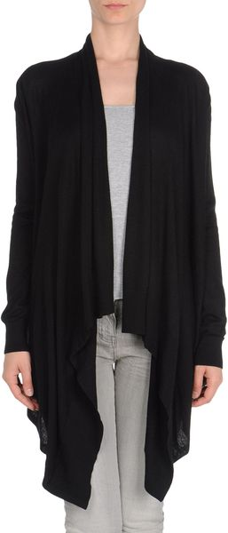 Michael By Michael Kors Cardigan in Black (blue) - Lyst
