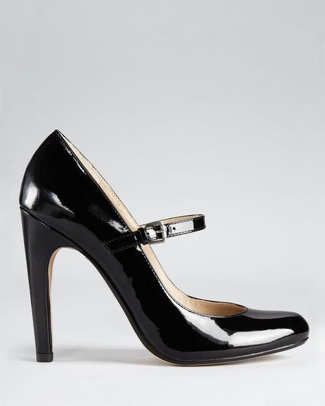 Michael Kors Galli Mary Jane Pumps In Black Lyst