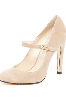 Michael Kors Galli Suede Mary Jane Pump - Lyst