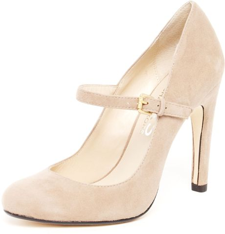 Michael Kors Galli Suede Mary Jane Pump in Khaki - Lyst