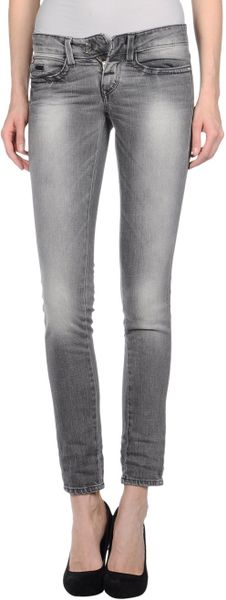 Miss Sixty Denim Pants in Blue (grey) - Lyst