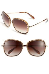 Oliver Peoples Oversized Sunglasses - Lyst