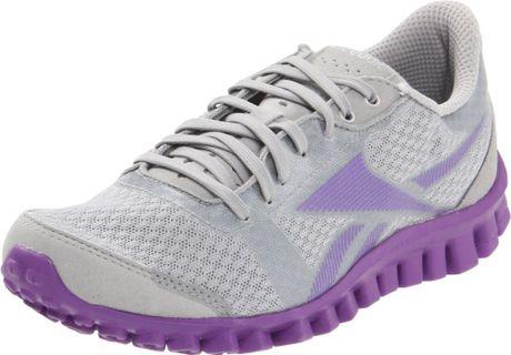 Reebok Reebok Womens Realflex Optimal Running Shoe in Gray (light grey