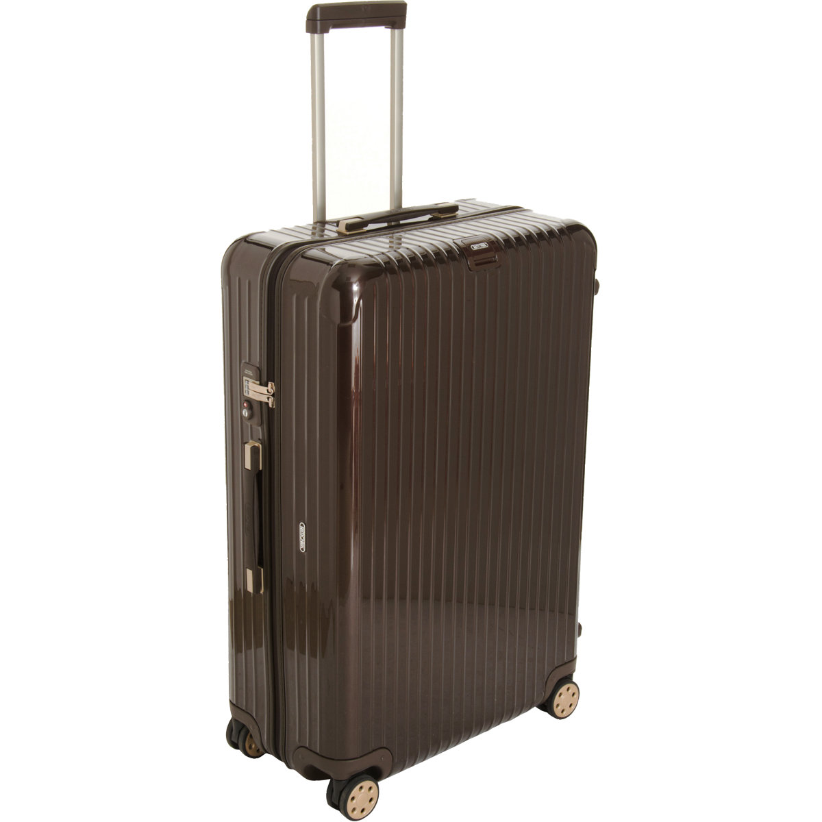 rimowa 32 salsa deluxe multiwheel in brown for men lyst. Black Bedroom Furniture Sets. Home Design Ideas