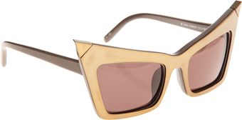 Alexander Wang Extreme Cat Eye Sunglasses - Lyst