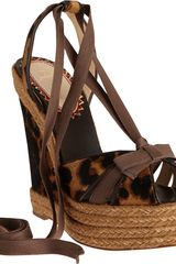 Christian Louboutin Isabelle in Brown (leopard) - Lyst