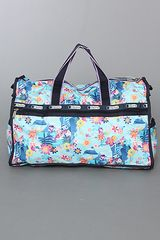 Lesportsac The Disney X Lesportsac Large Weekender Bag with Charm in Tahitian Dreams in Blue - Lyst