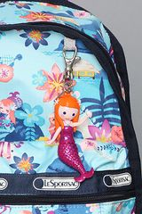 Lesportsac The Disney X Lesportsac Mini Basic Backpack with Charm in Tahitian Dreams in Blue - Lyst