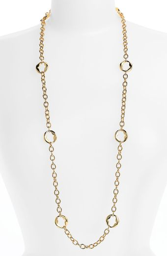 Tory Burch Cooper Long Necklace - Lyst