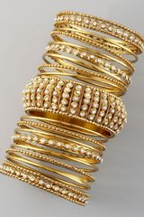 Chamak By Priya Kakkar 17piece Bangle Set - Lyst