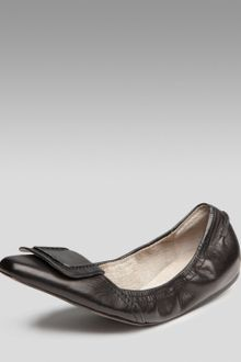 Elizabeth And James Scrunchy Ballerina Flats - Lyst