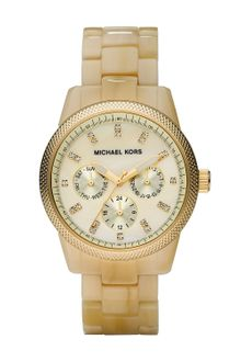 Michael Kors Horn Jet Set Watch - Lyst