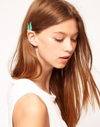 Asos Winged Ear Cuff - Lyst