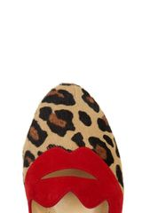 Charlotte Olympia Bisoux in Animal - Lyst