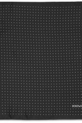 Dolce & Gabbana Pin Dot Silk Pocket Square in Black for Men - Lyst