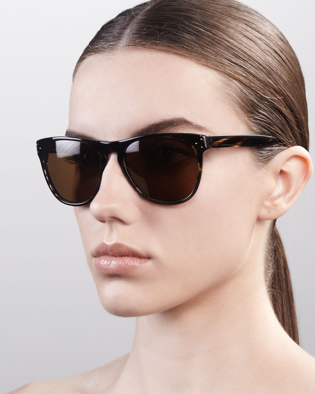 28a351407d5 Lyst - Oliver Peoples Daddy B Sunglasses in Brown