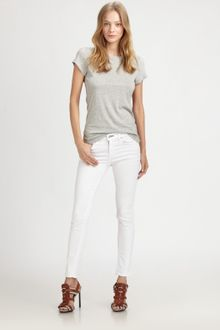 Rag & Bone Destroyed Skinny Jeans - Lyst