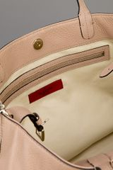 Valentino Studded Leather Tote in Beige (nude) - Lyst