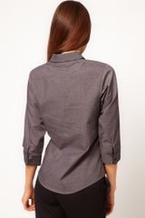 Asos Collection Asos Shirt in Gray (grey) - Lyst