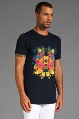 Marc By Marc Jacobs Flower T in Blue for Men (navy) - Lyst