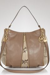 Michael Kors Michael Shoulder Bag Medium Leather - Lyst