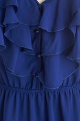 Modcloth Drop Everything Top in Blueberry in Blue (blueberry) - Lyst