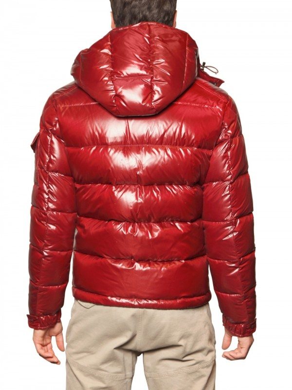 510103594 Moncler Maya Nylon Laque Quilted Down Jacket in Red for Men - Lyst