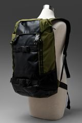 Nixon Landlock Backpack in Green for Men (army stripe) - Lyst