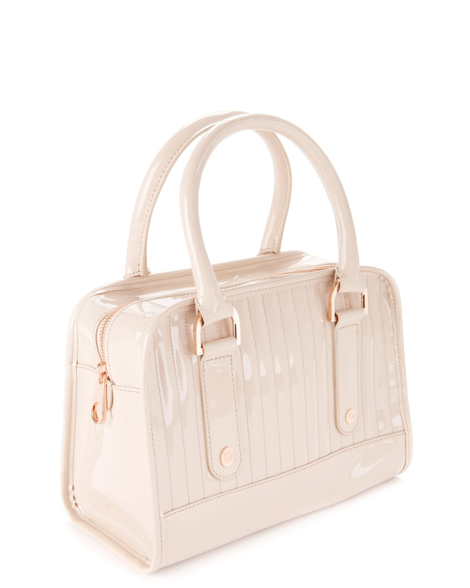 Ted Baker Woody Bowler Bag In Natural Lyst