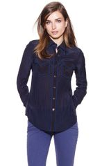 Tory Burch Margee Blouse - Lyst