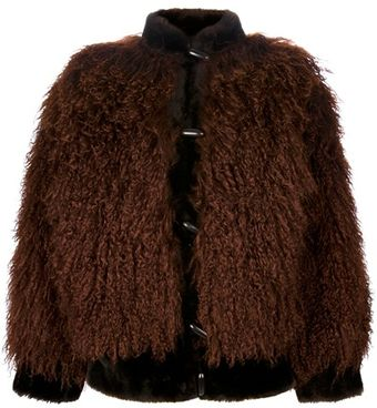 Yves Saint Laurent Vintage Mink Fur Jacket - Lyst