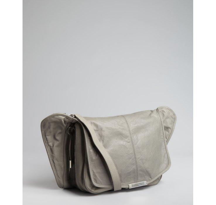 Alexander Wang Leather Side Extended Panels Iris Crossbody