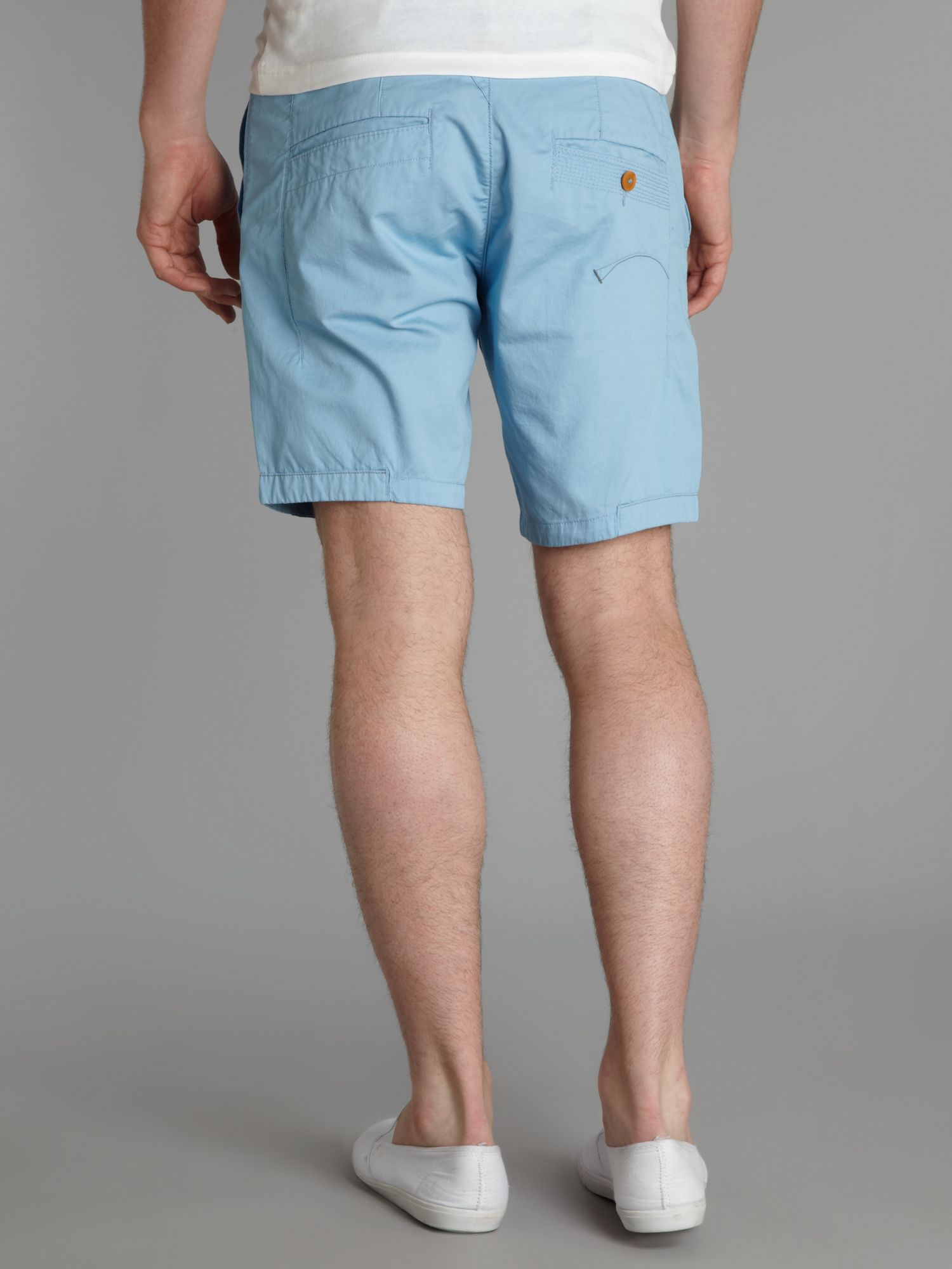 Baby Blue Chino Shorts - The Else
