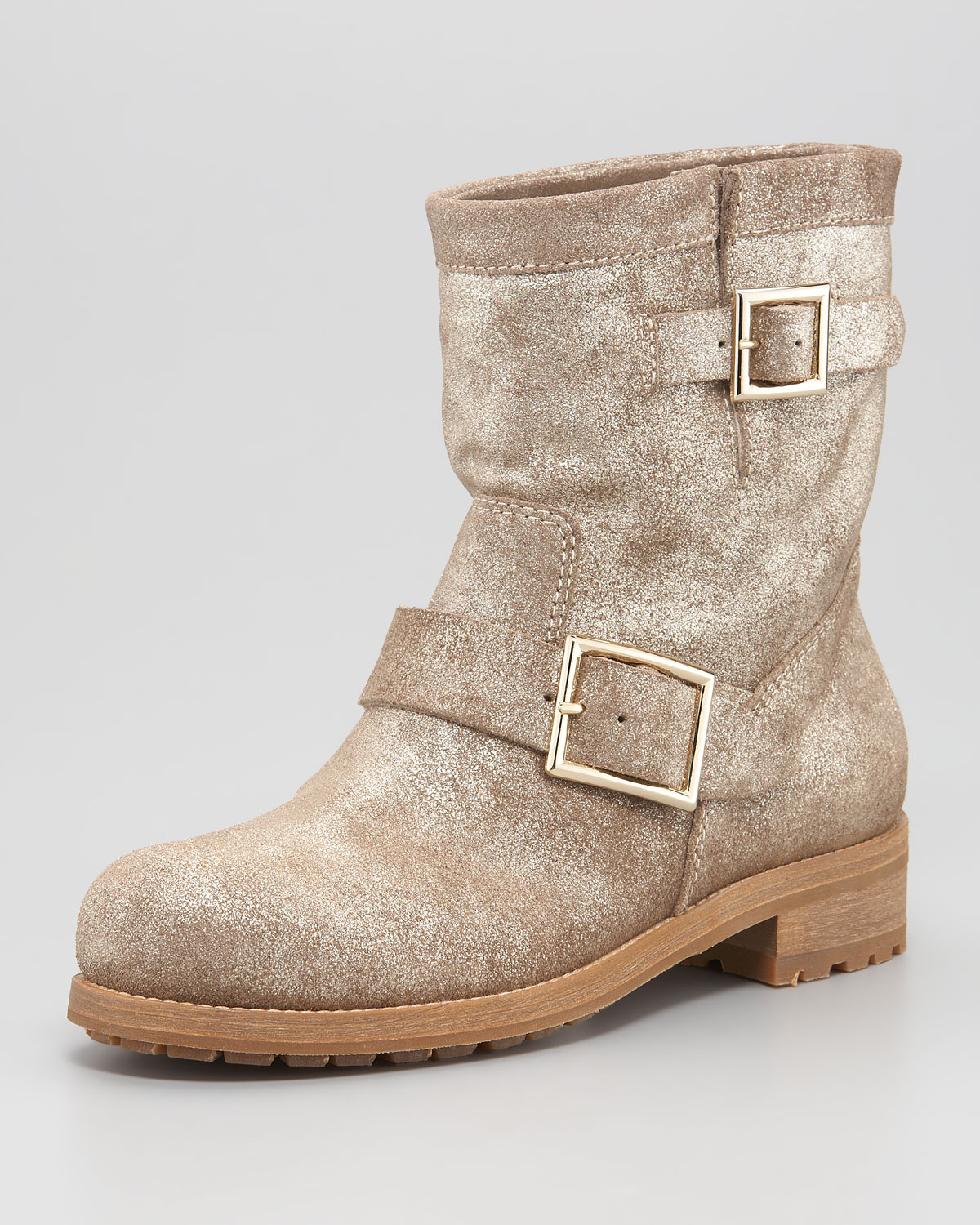 Jimmy Choo suede rhinestone buckle boot clearance nicekicks low shipping sale online clearance cheap price awXEkh