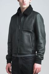 Lanvin Leather Motorcycle Jacket - Lyst