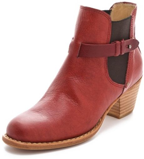 Rag & Bone Durham Boots in Brown (chili)