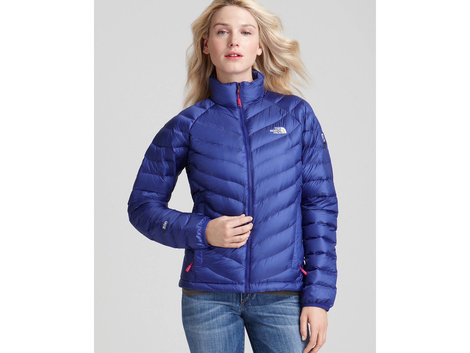 Lyst The North Face Thunder Lightweight Down Jacket In Blue