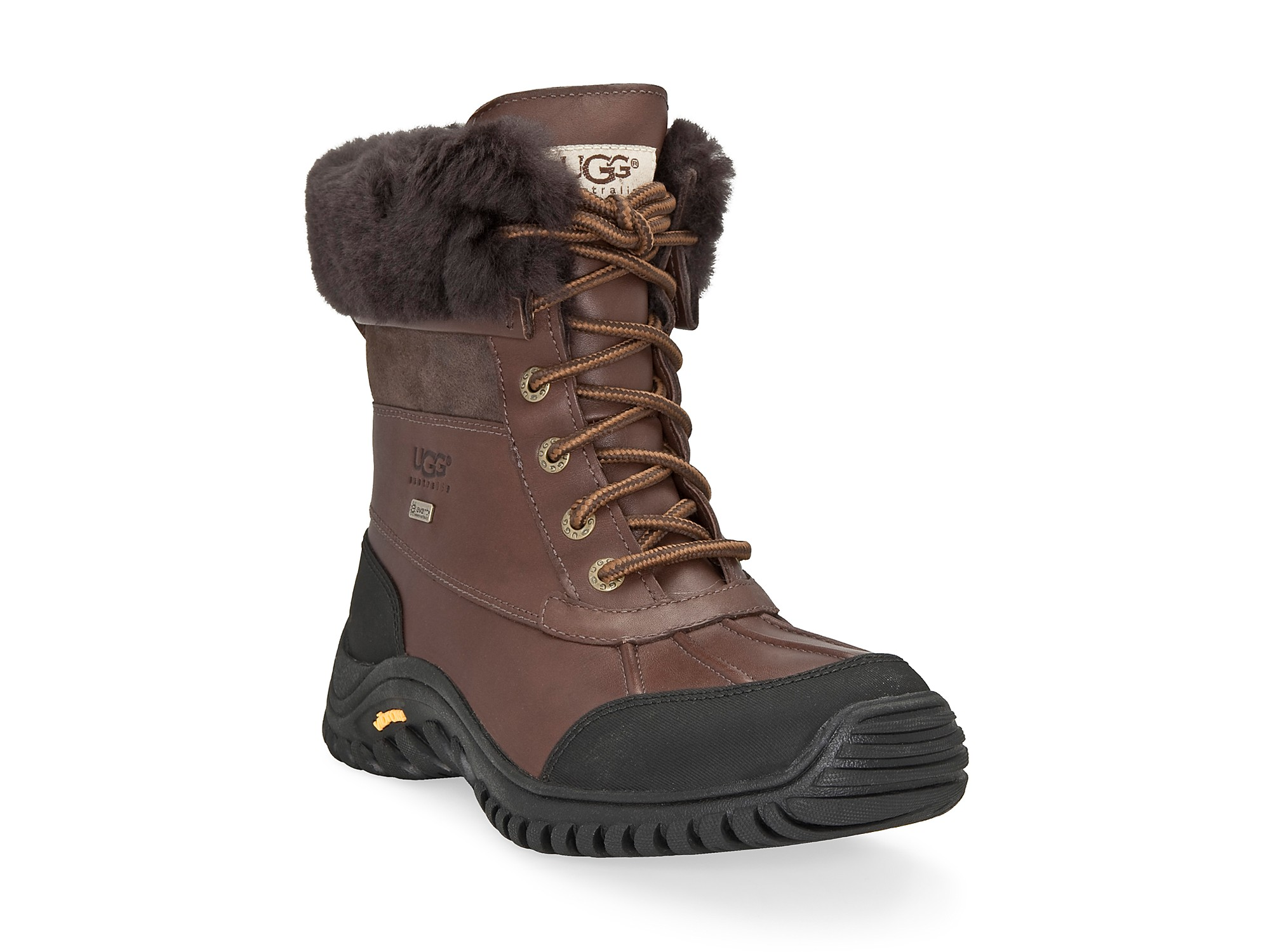 Innovative UGG Australia Womenu0026#39;s Black/ Grey U0026#39;Adirondacku0026#39; Snow Boots (Size 6) - Overstock Shopping - Great ...